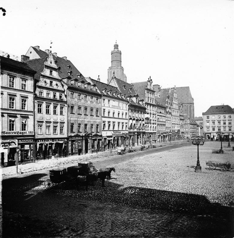 Zachodnia strona Rynku (Siedmiu Elektorów) - Hermann Krone, po 1863 roku