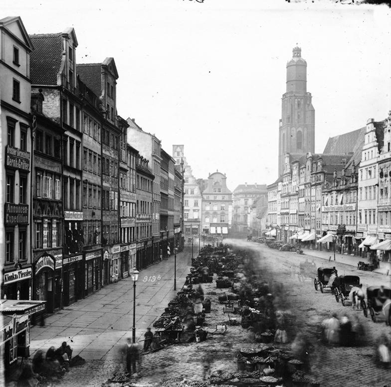 Północna strona Rynku (Targ Łakoci) - Hermann Krone, po 1863 roku