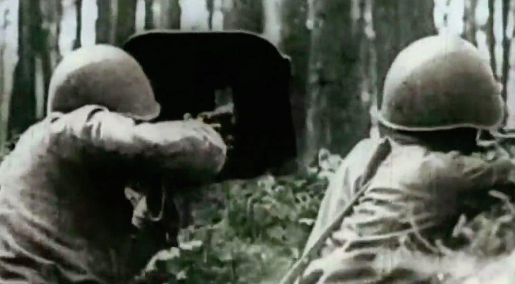 Żołnierze Armii Czerwonej na froncie wschodnim