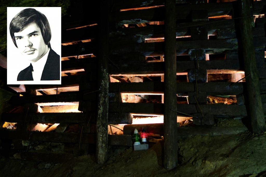 Znicz w Sztolniach Walimskich upamiętnia tragiczną śmierć Witolda Mrozika