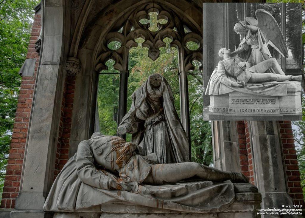 Grobowiec Karla Roberta von Lachmanna - Foto: Fotografia Dokumentalna Wioletta Kozłowska