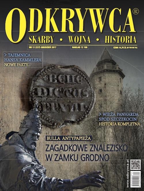 """Grudniowy (2017) numer miesięcznika """"Odkrywca"""""""