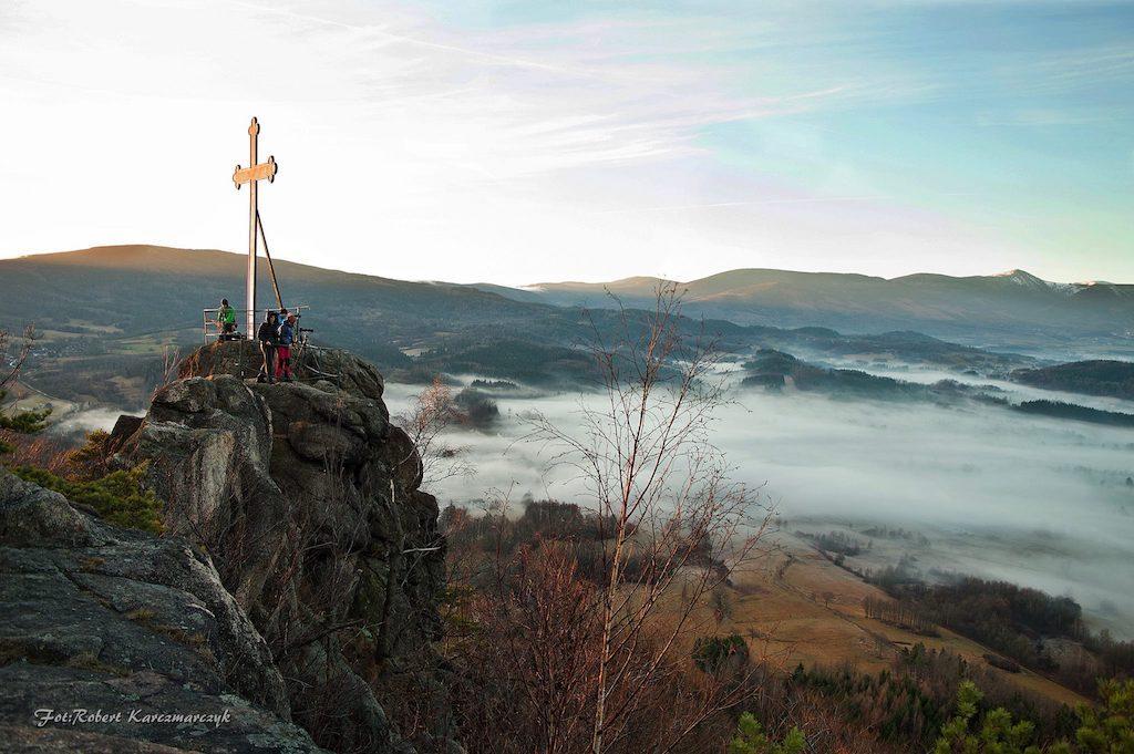 Krzyżna Góra, Rudawy Janowickie - Foto: Robert Karczmarczyk