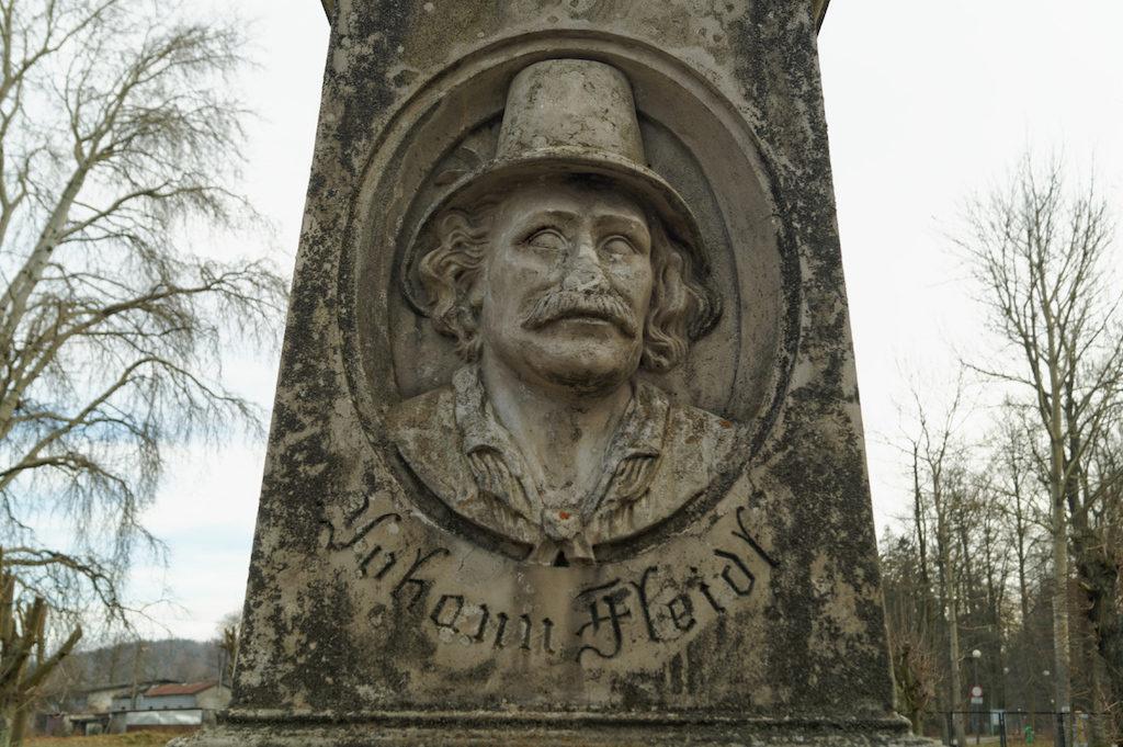 Pomnik Johanna Fleidla
