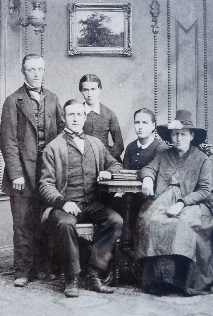 Tyrolczycy, rodzina Schiestlów - Źródło: www.1837-auswanderer.de