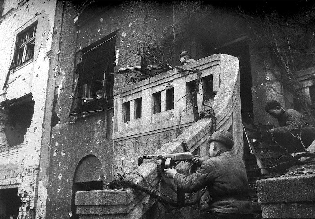 Żołnierze 309. dywizji w walkach o Wrocław