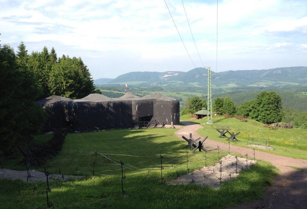 Twierdza Stachelberg koło Trutnova, schron TS 73