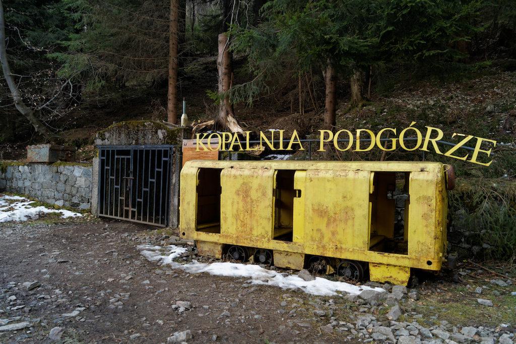 """Trasa turystyczna w dawnej kopalni uranu """"Podgórze"""""""
