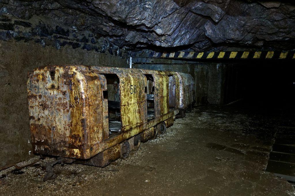 """Wyrobiska dawnej kopalni uranu """"Podgórze"""""""