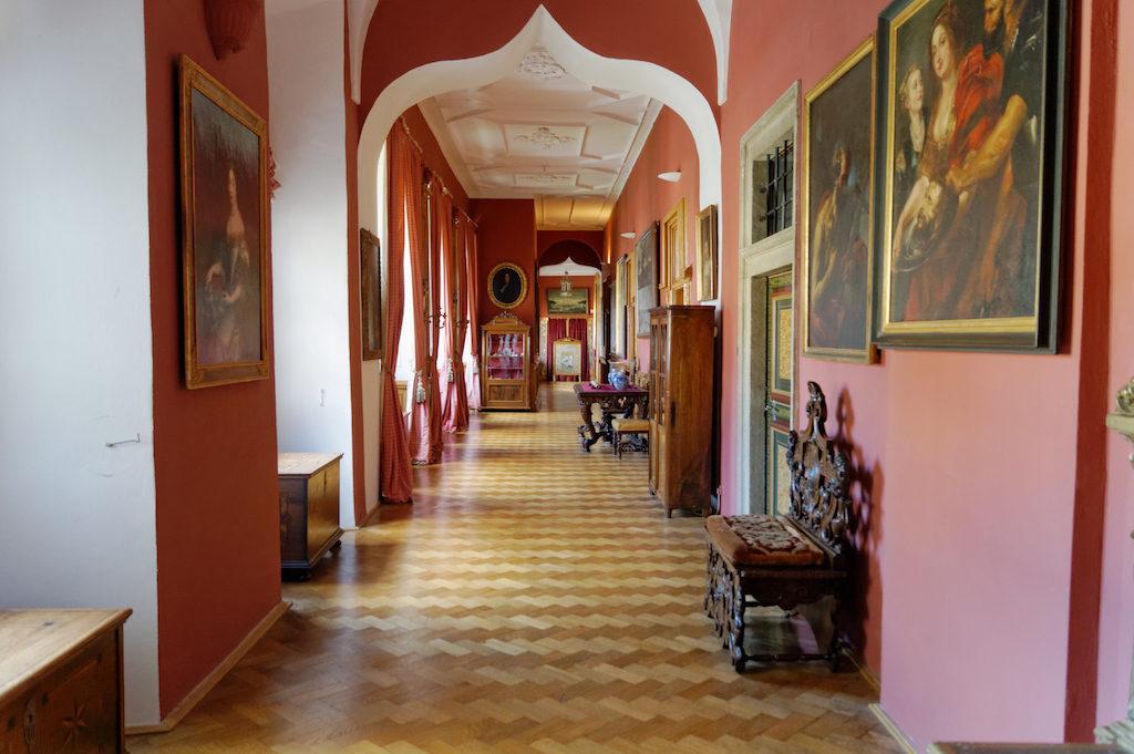 Renesansowa galeria arkadowa – Zamek Častolovice