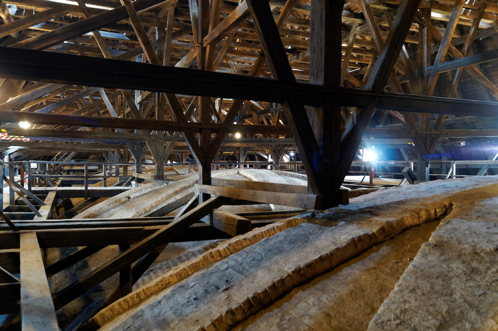 Konstrukcja więźby dachu mansardowego