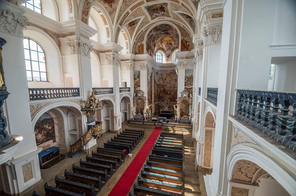 Wnętrze kościoła św. Józefa – Foto: Adrian Sitko