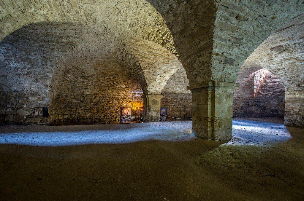 Fragment udostępnionych podziemi pod bazyliką – Foto: Adrian Sitko