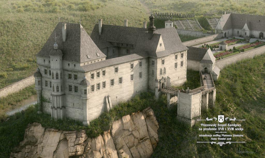 Zamek w Pińczowie – Autor: Mateusz Staniszew