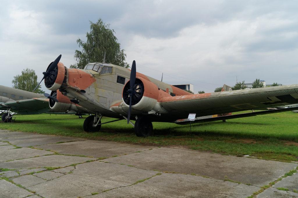Niemiecki samolot transportowy Junkers Ju-52