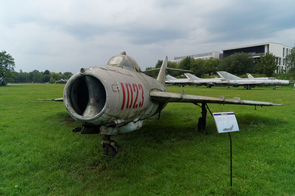 Samolot myśliwski Lim-5 (MiG-17)
