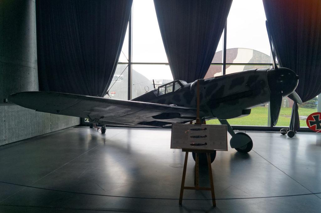 Niemiecki myśliwiec Messerschmitt Bf 109G-6