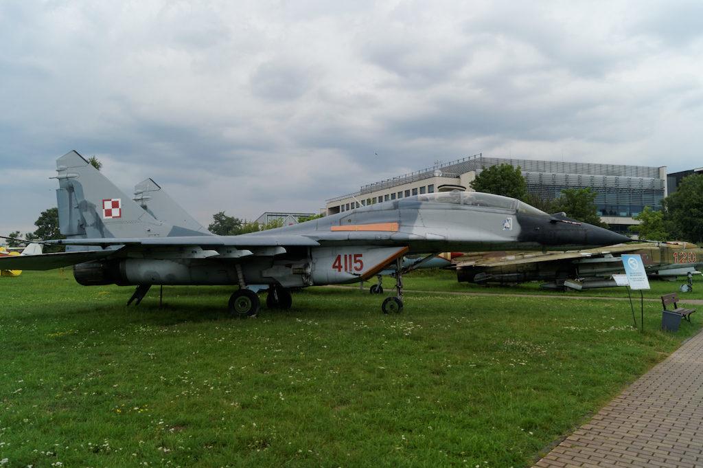 Samolot myśliwski MiG-29 UB (wersja szkolno-bojowa)