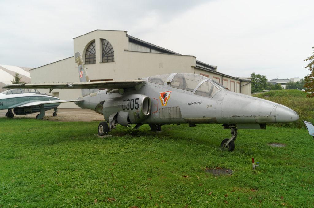 Samolot polskiej konstrukcji PZL I-22 Iryda
