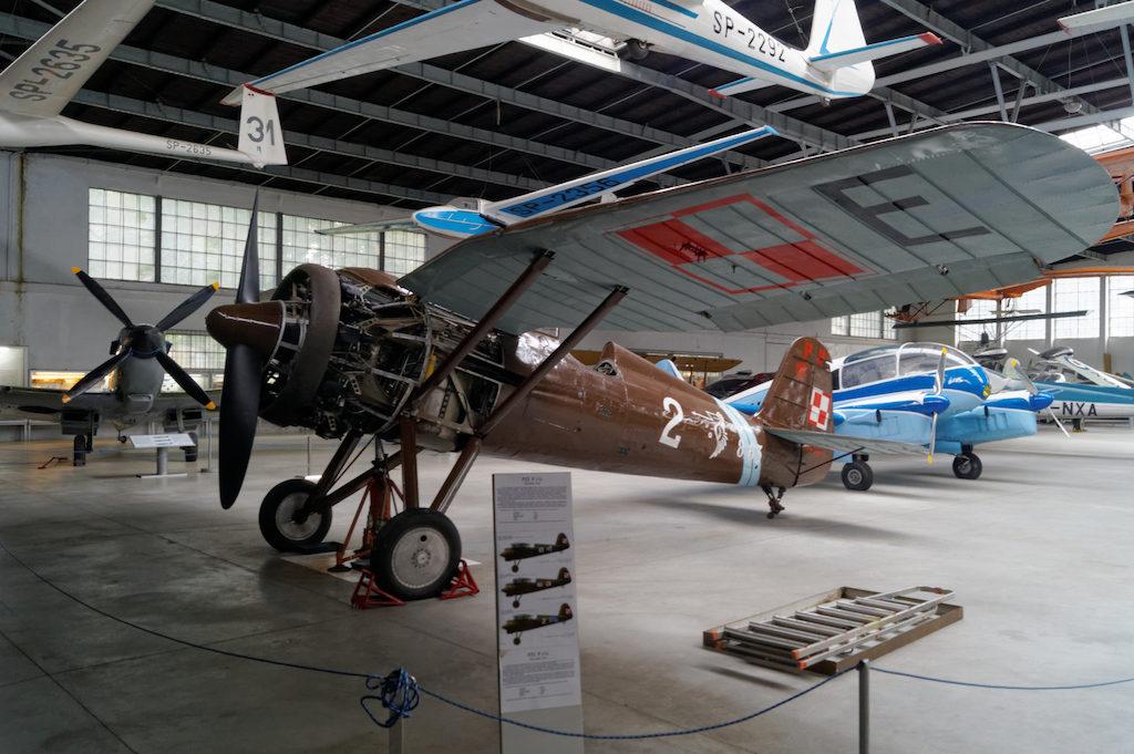 Polski samolot myśliwski PZL P.11c, symbol obrony polskiego nieba w kampanii wrześniowej 1939 roku