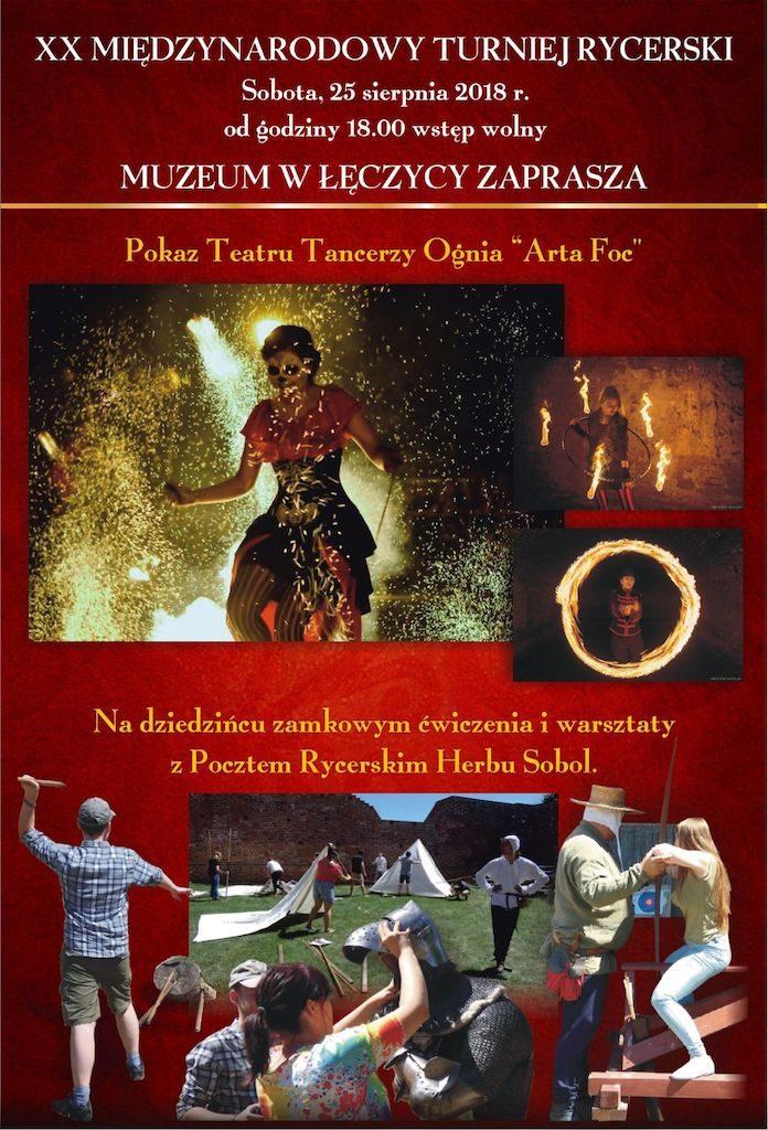 """Pokaz Teatru Tancerzy Ognia """"Arta Foc"""""""