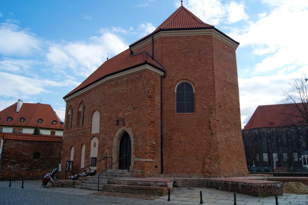 Po zamku na Ostrowie Tumskim zachowała się tylko kaplica św. Marcina – Zaginione zamki Dolnego Śląska
