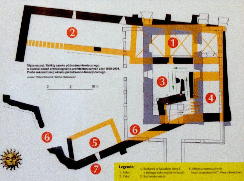 Próba rekonstrukcji układu zamku w świetle badań archeologiczno-architekotnicznych z lat 1998-2004