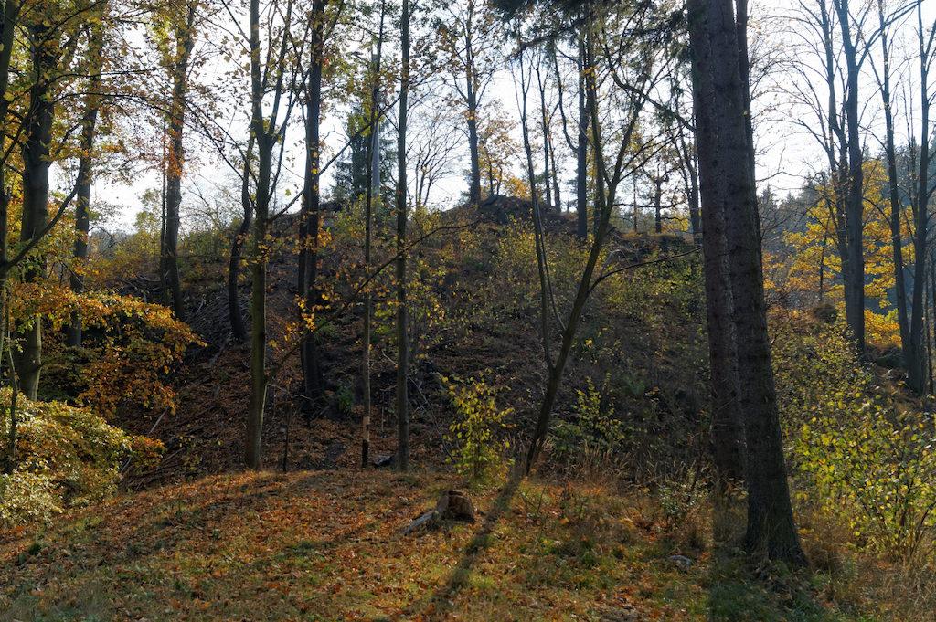 Borowy Jar, miejsce, w którym dawniej stał średniowieczny zamek – Zaginione zamki Dolnego Śląska