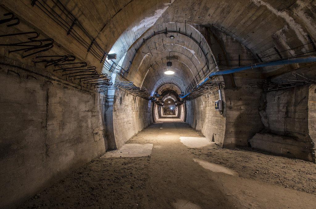 Podziemia kompleksu Książ – Foto: Adrian Sitko