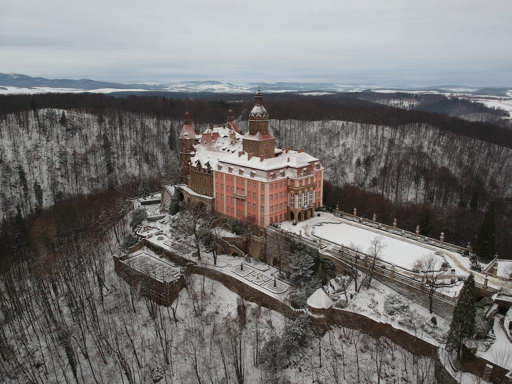 Zamek Książ w Wałbrzychu – Foto: Michał Jabłoński