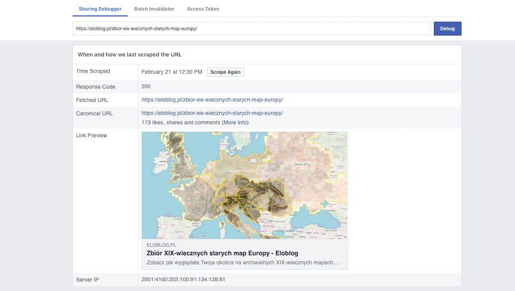 """Facebook URL Debugger – Sprawdzi i """"naprawi"""" Twoje linki"""