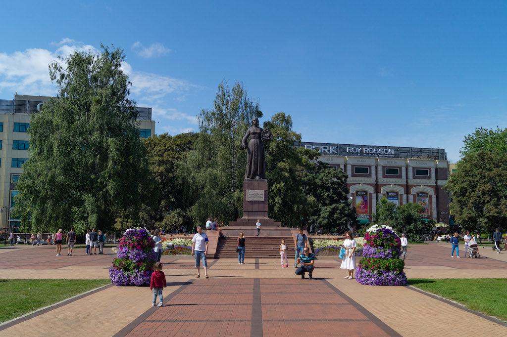 Pomnik Matki Ojczyzny w Kaliningradzie, postawiony na pamiątkę przejścia miasta do ZSRR