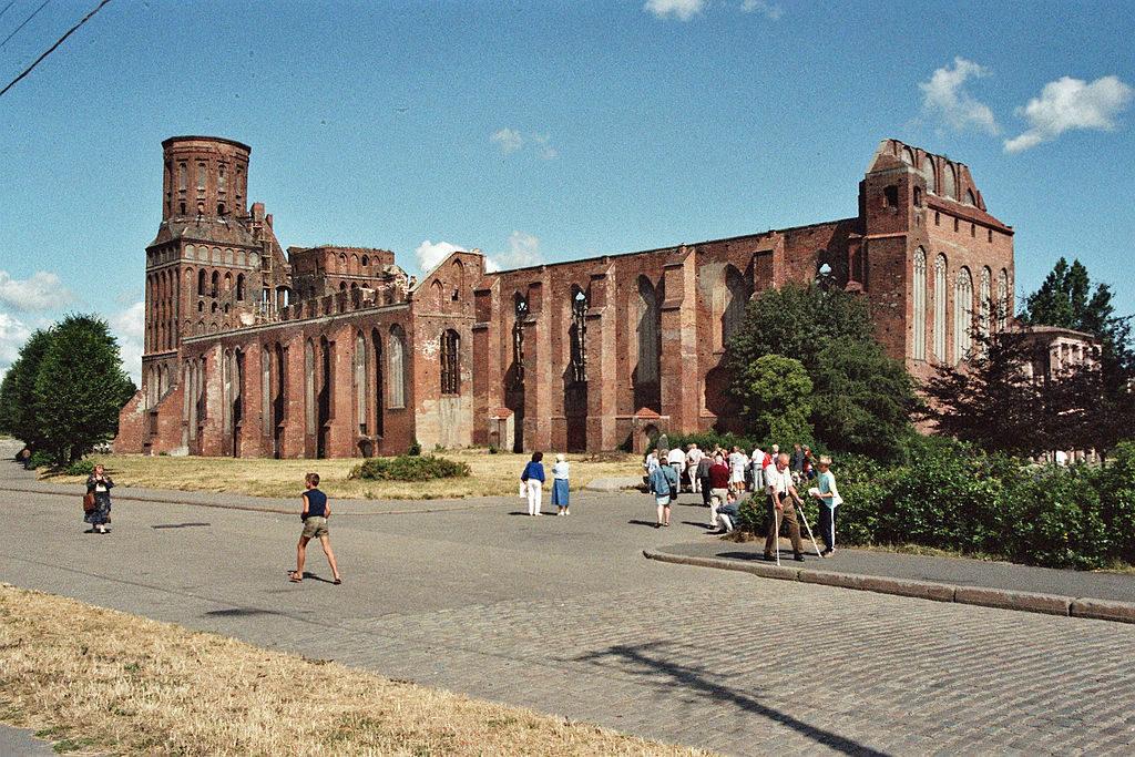 Ruiny katedry w 1982 roku – Foto: Huhu Uet Źródło: wikimedia.org