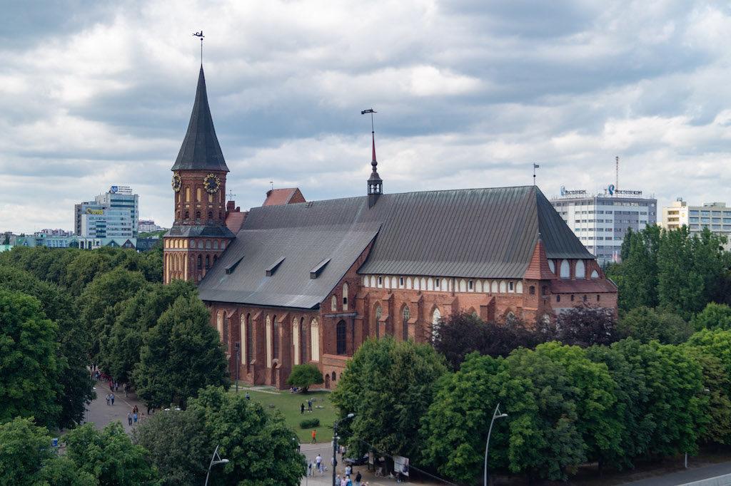 Kaliningradzka katedra i Knipawa