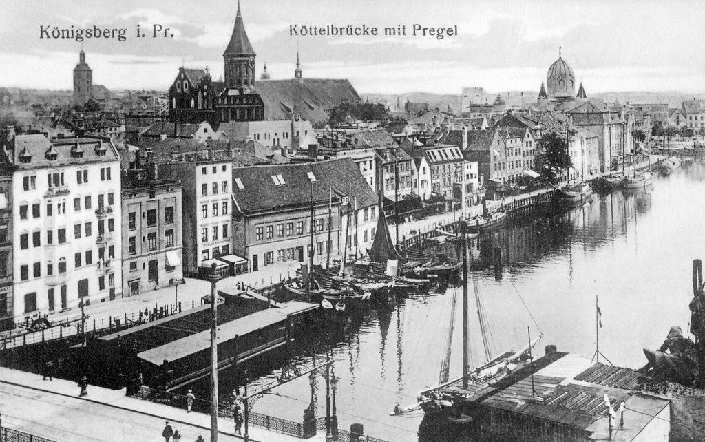 Königsberg na starym zdjęciu z 1908 roku