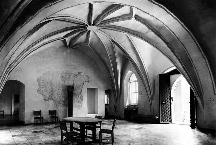Pomieszczenia marszałka zakonu krzyżackiego