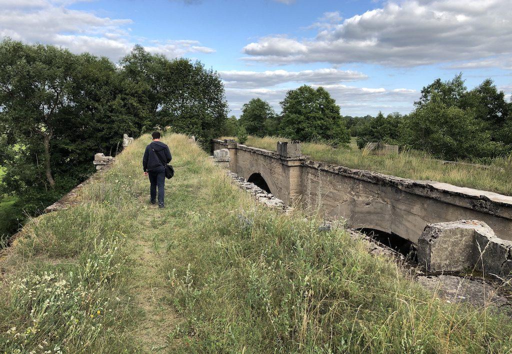 Mosty w Kiepojciach – Na tej samej trasie znajduje się jeszcze kilka innych nieczynnych mostów kolejowych