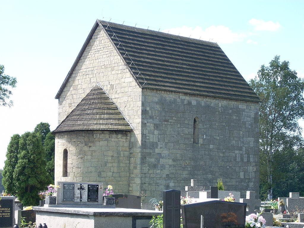 Kościół pw. św. Jana Chrzciciela w Siewierzu – Foto: Michał Sz. Źródło: wikimedia.org