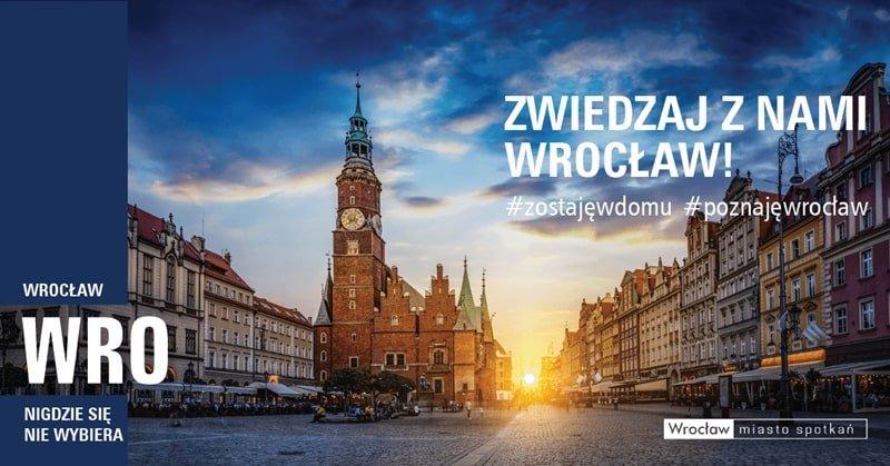 Wirtualne spacery z przewodnikiem po Wrocławiu