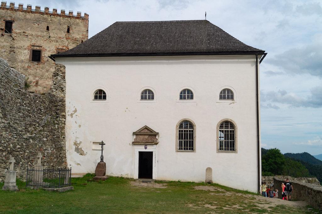Barokowa zamkowa kaplica pw. św. Michała Archanioła