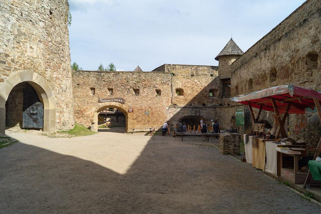 Zamek dolny