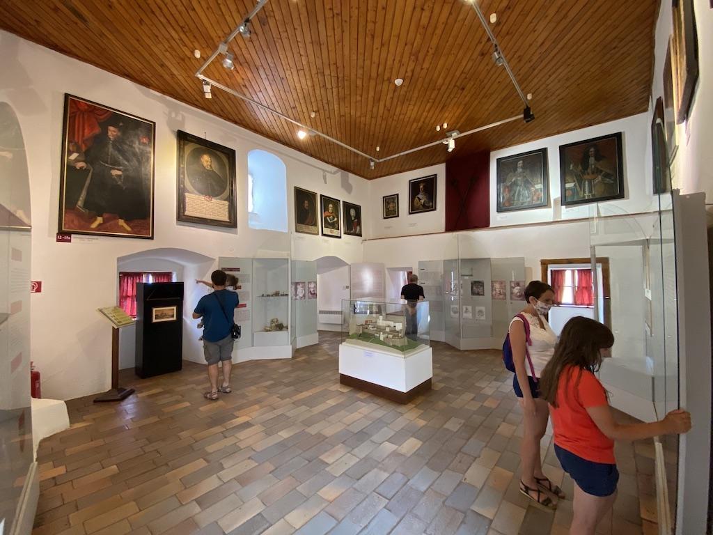 Wystawa poświęcona historii zamku