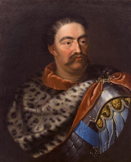 Jan III Sobieski na obrazie Jana Triciusa
