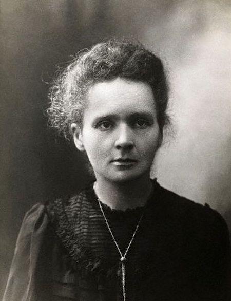 Maria Skłodowska-Curie na zdjęciu z 1898