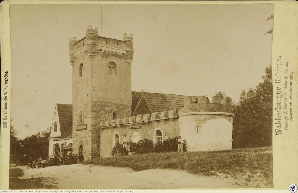 Zdjęcie Belwederu z przedostatniej dekady XIX wieku – Źródło: polska-org.pl