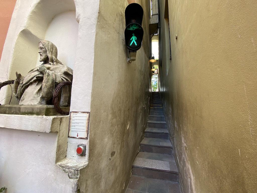 Najwęższa ulica Pragi