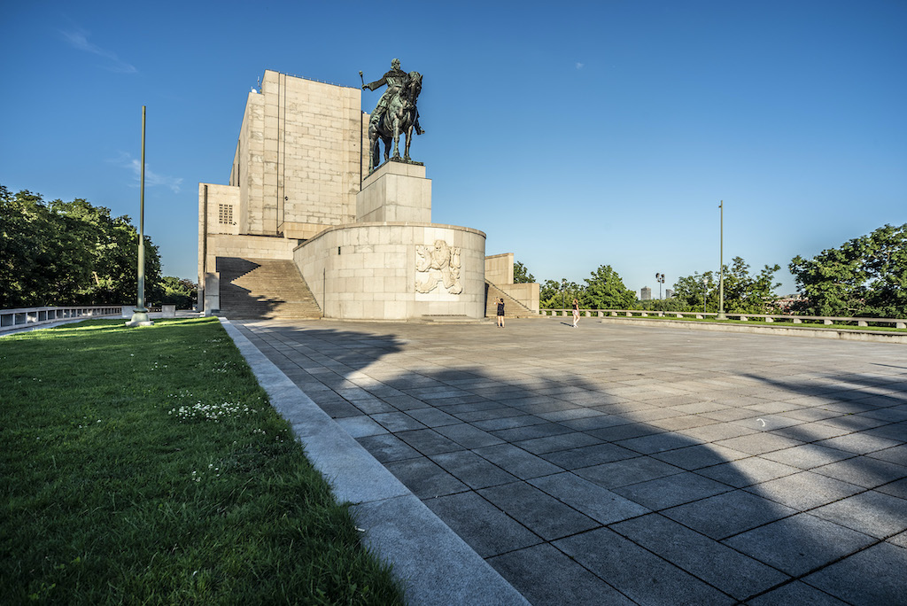 Pomnik Jana Žižki na Vítkovie