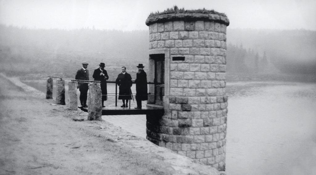 Zapora na Białej Desnej została ukończona w 1915 roku