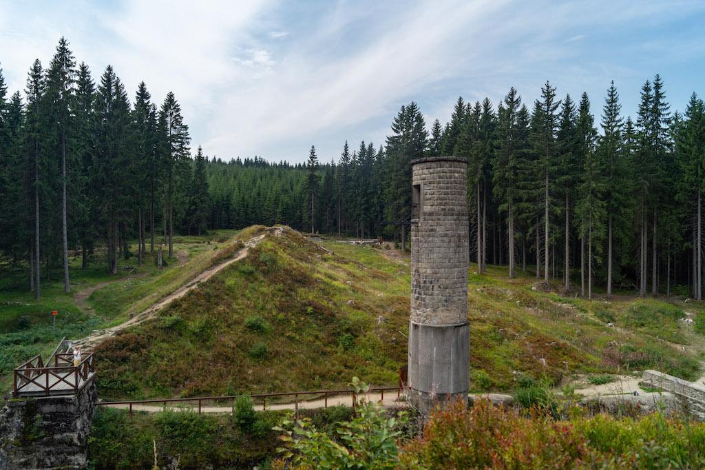 Miejsce, w którym doszło do przerwania konstrukcji