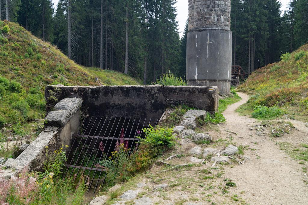 Sztolnia odprowadzająca wodę ze zbiornika